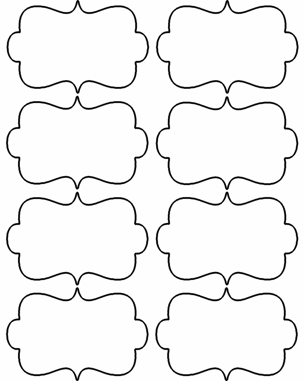It is an image of Fan Printable Shapes Template