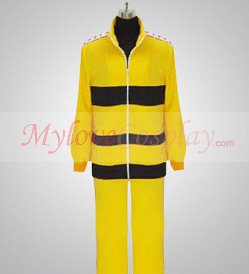 Rikkai Daigaku Fuzoku Yellow Uniform The Prince Of Tennis