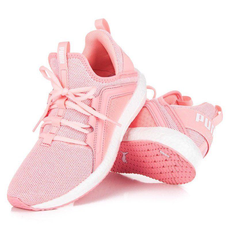 Puma Mega Nrgy Knit Wn S Rozowe Pink Puma Shoes Soft Heels Sport Shoes Women