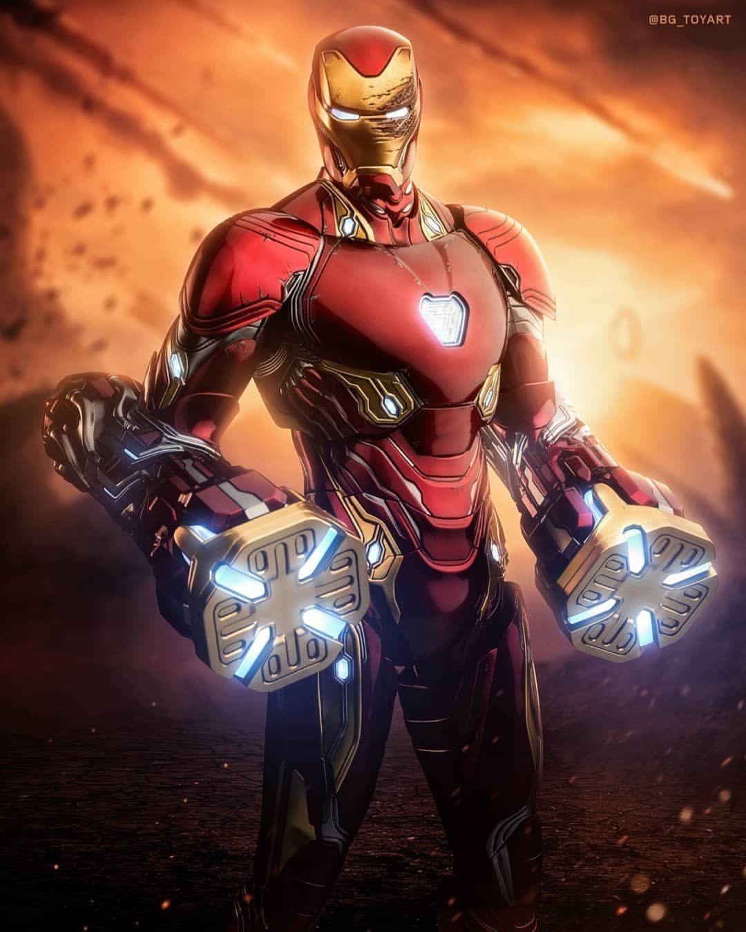 You Have My Respect Stark By Bg Toyart Tonystark Marvel Thanos Avengersendgame Avengers Infinitywar Com Iron Man Avengers Iron Man Iron Man Photos