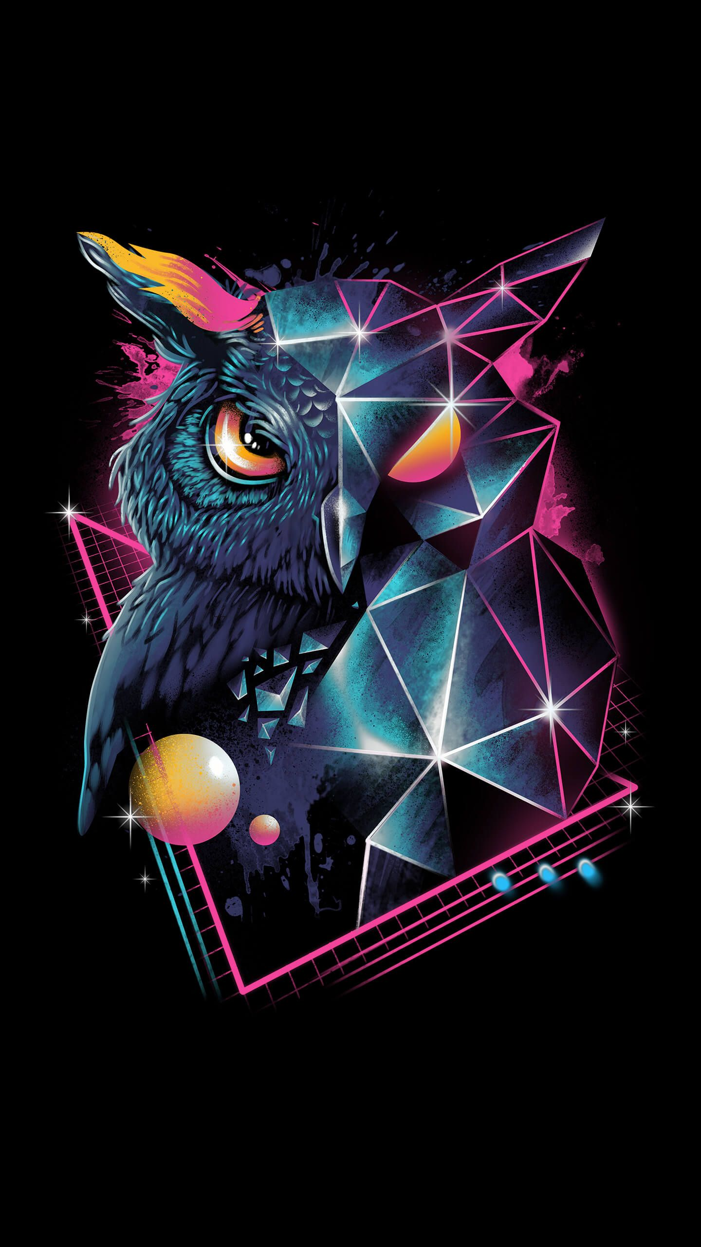 Rad Owl Owl Wallpaper Iphone Owl Wallpaper Owl Artwork