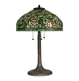 Dale Tiffany Apple Blossom Tiffany Replica Table Lamp Tiffany Lamps Lamp Tiffany Table Lamps