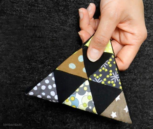 ................... bimbambuki: Triangle Täschchen
