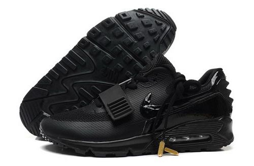 separation shoes 7009b bc21b 2014 Nike Air Yeezy Ii 2 Sp Max 90 The Devil Series West Mens Shoes All  Black Canada