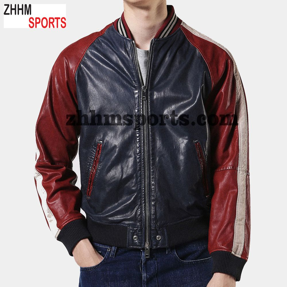Men Hooded Black Leather Jacket Buy Casual Jackets For