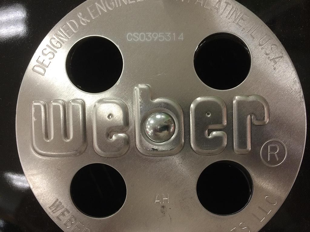 1985 to 1992 Weber did not code Pacific Living Pizza Oven