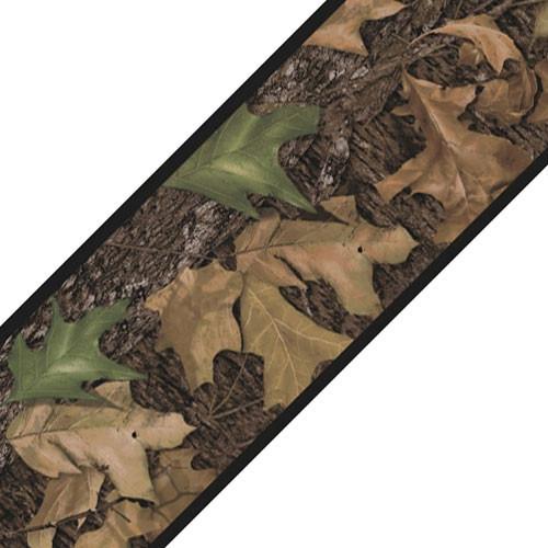 Mossy Oak Camo Leaves Self Stick Accent Wall Border