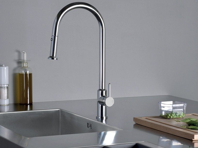 miscelatore da cucina con doccetta estraibile kk 530 miscelatore da cucina cristina rubinetterie