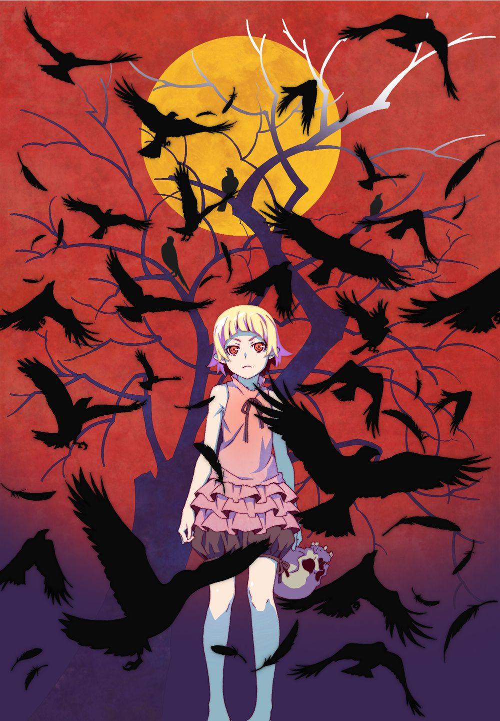 《伤物语》剧场版上映时间确定为60分钟 Anime, Shinobu oshino, Anime drawings