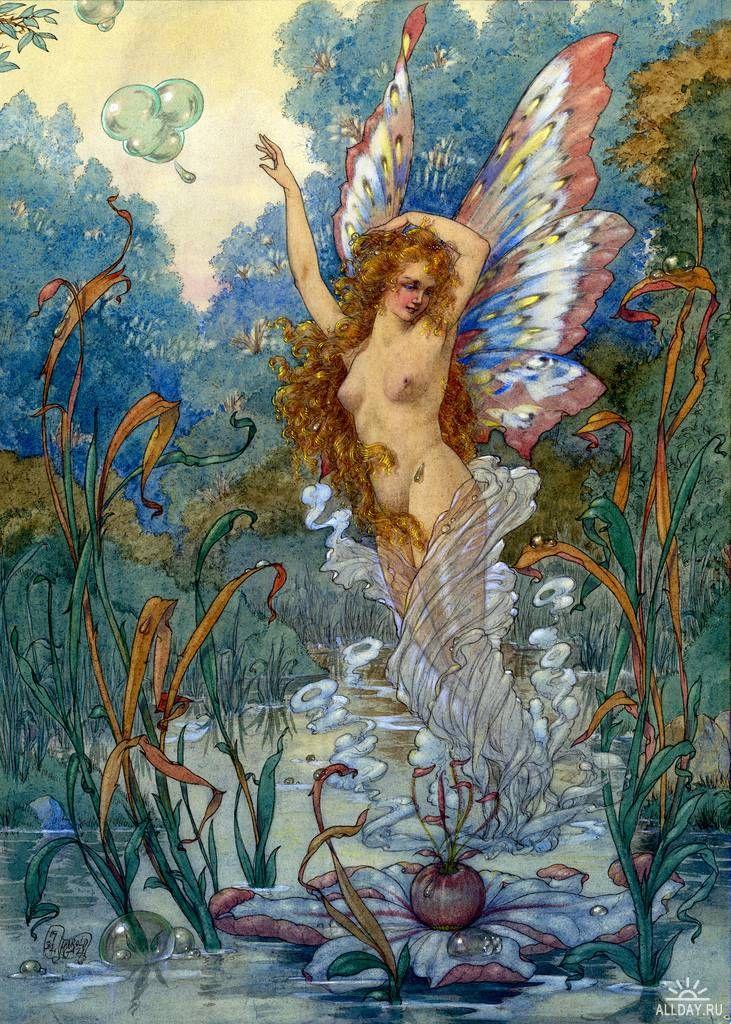 Harold Gaze, butterfly fairy.