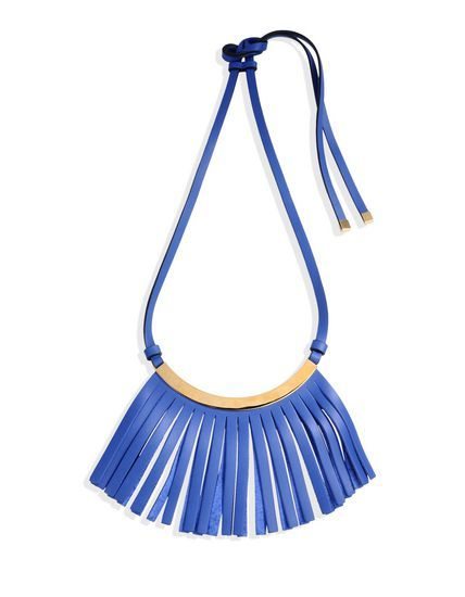 Marni #Necklace - #Fringe - Logo application