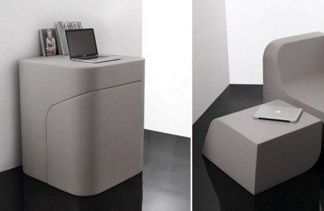 Идеи для мини-квартирок. Мебель-трансформеры.