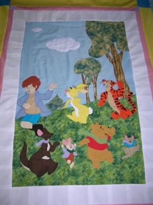 Winnie the pooh quilt! | -Sewing Love! | Pinterest | Quilt baby : winnie the pooh baby quilt - Adamdwight.com