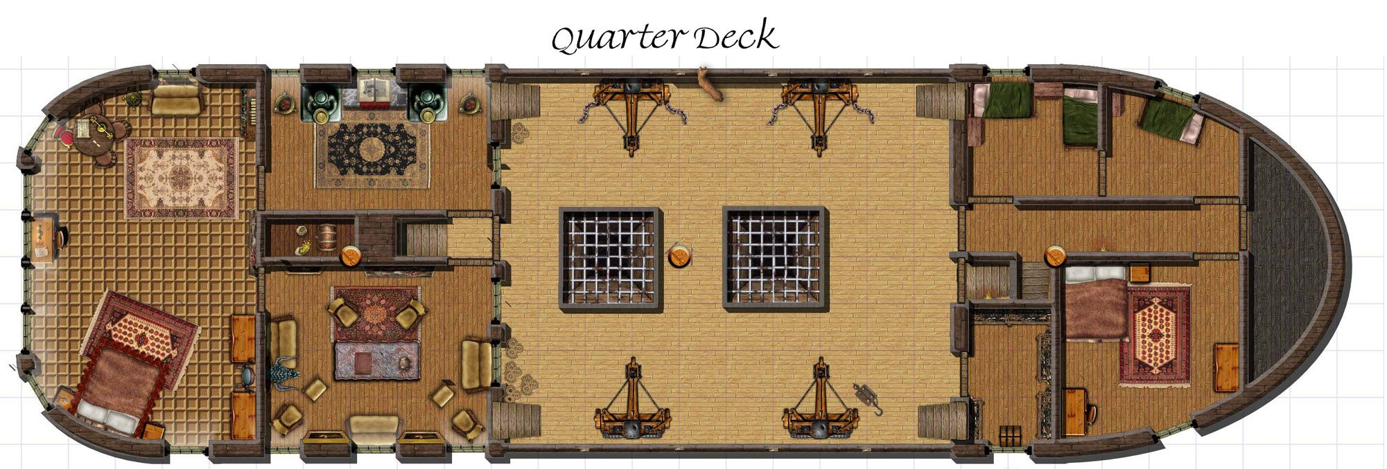 Related Image Fantasy Ship Plans Dungeon Maps Ship
