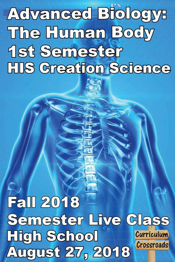 Advanced Biology 1st semester Live Class by HIS Creation Science ...