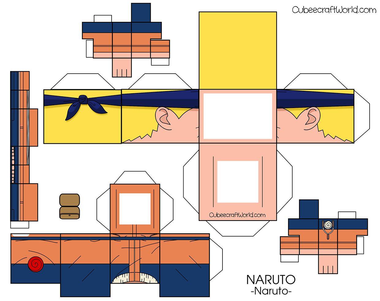 2 of 2Cubeecraft Uzumaki Naruto Naruto