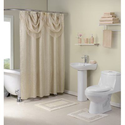 Luxury Bathroom Valances And Shower Curtains In Home Remodel Ideas