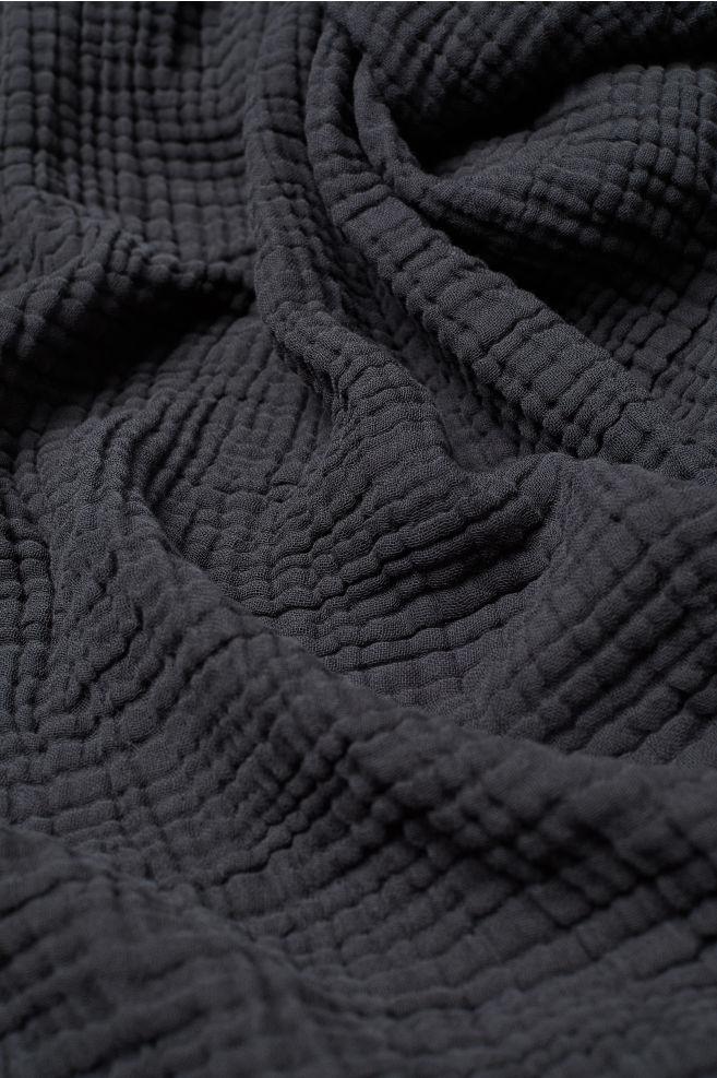 Cotton Muslin Bedspread Bed Spreads Gray Bedspread