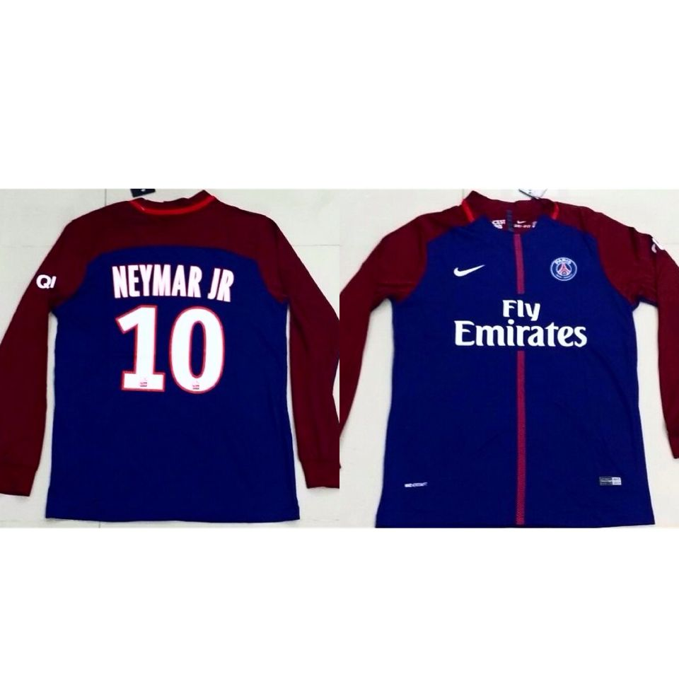 Stock Available Football T Shirts Paris Name Neymar Jr