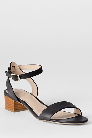 Women's Amalia Ankle Strap Sandals from Lands' End