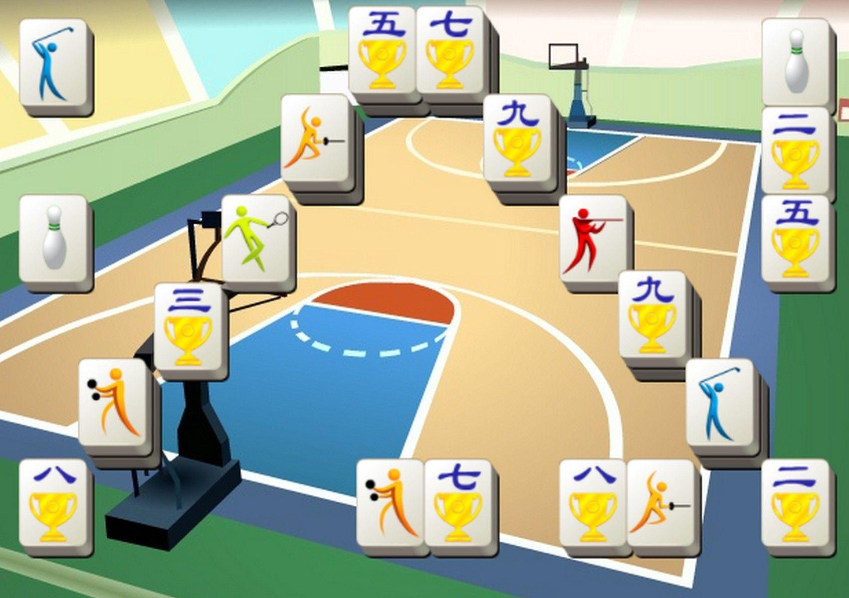 Sports Mahjong Free online games, Play arcade games