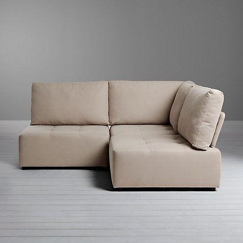 Buy House By John Lewis Flex Small Corner Sofa, Fraser Red Online At  Johnlewis.