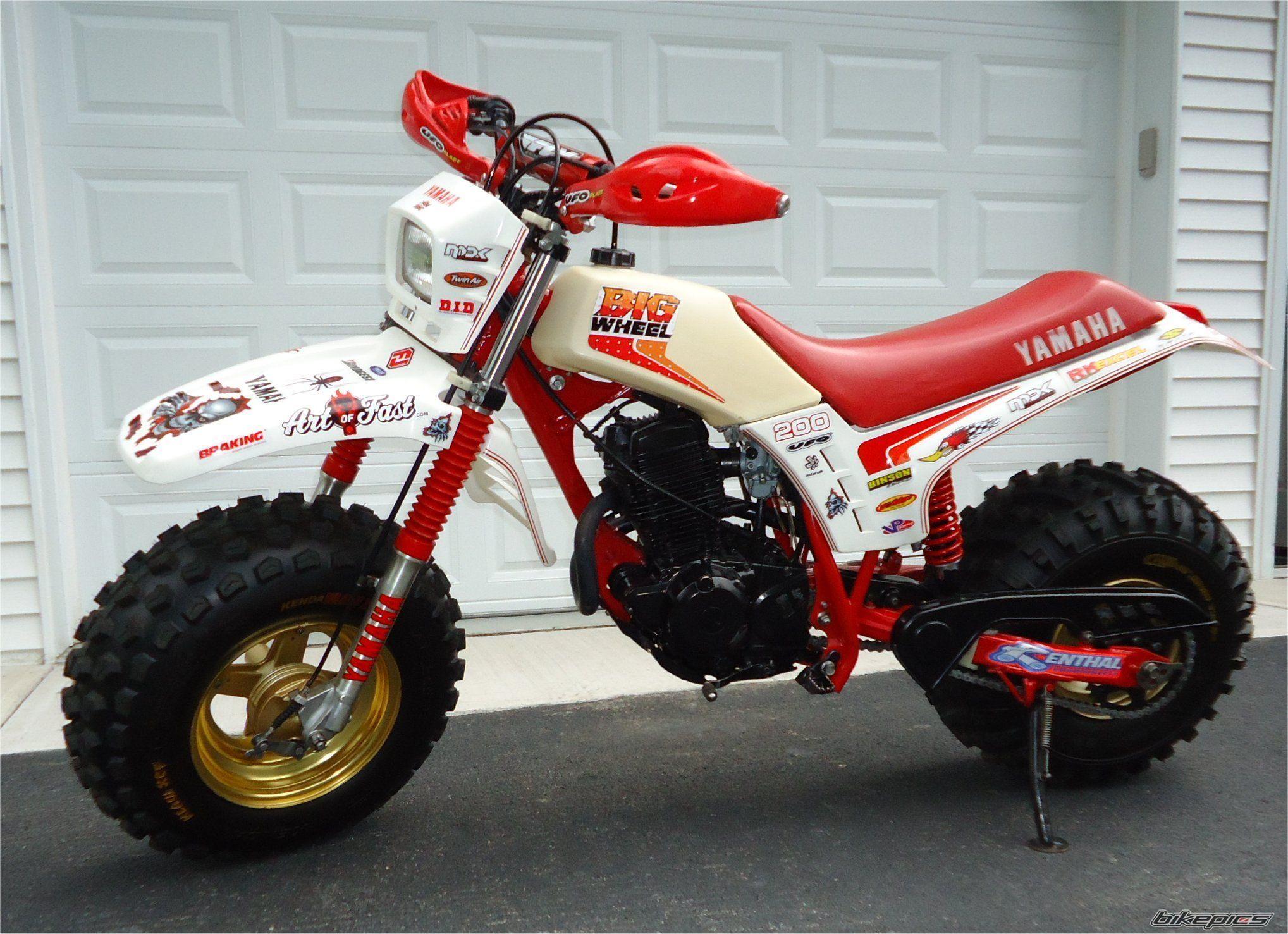 1986 Yamaha BW 200 | Projects to Try | Yamaha, Honda, Motorcycle