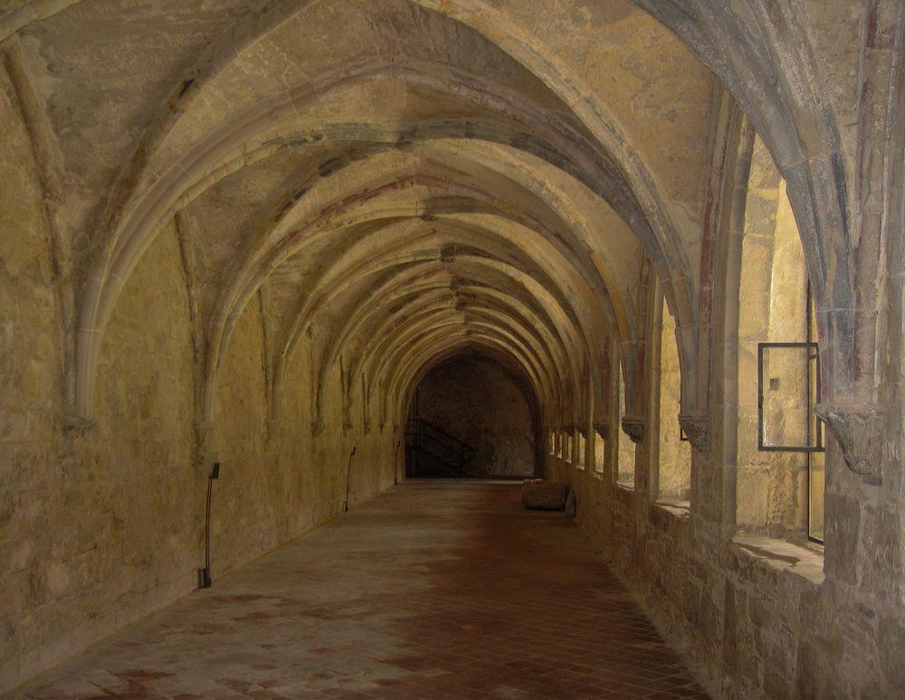 Kreuzgang im Kloster Michaelstein http://fc-foto.de/20535650