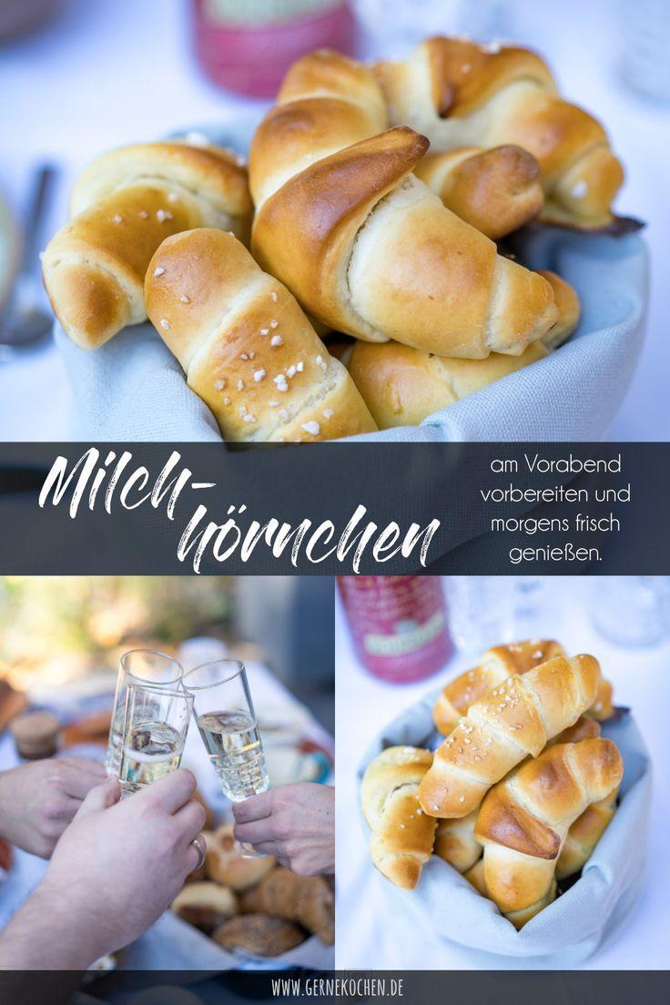 Rezept: Milchhörnchen - Süßes Frühstück - gernekochen.de