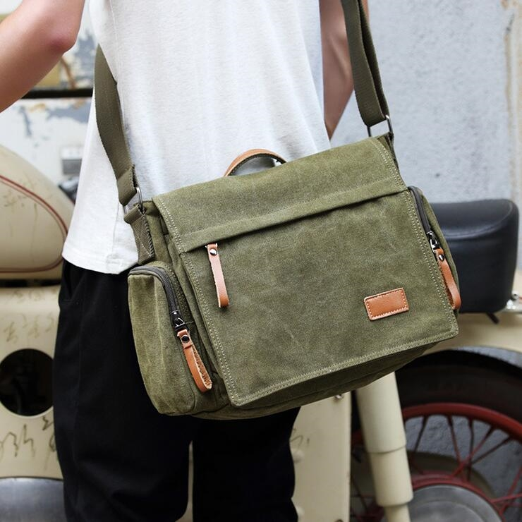 22.79$  Buy here - http://ali347.shopchina.info/go.php?t=32790589387 - Multi-function Men's Crossbody Bag Fashion Men's shoulder bag Canvas Ipad Bag Men messenger bag  22.79$ #magazineonlinebeautiful