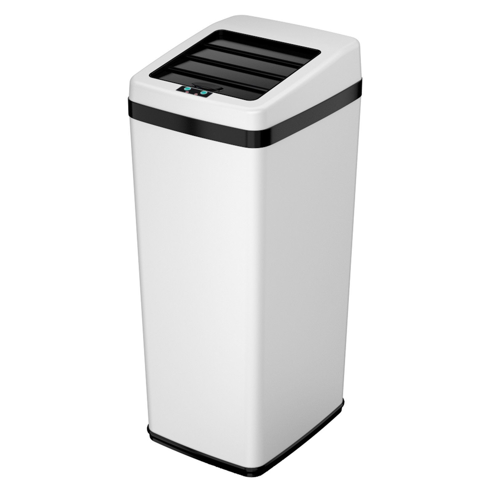 iTouchless IT14SC Trashcan SX Stainless Steel 14 gal. Trash ...