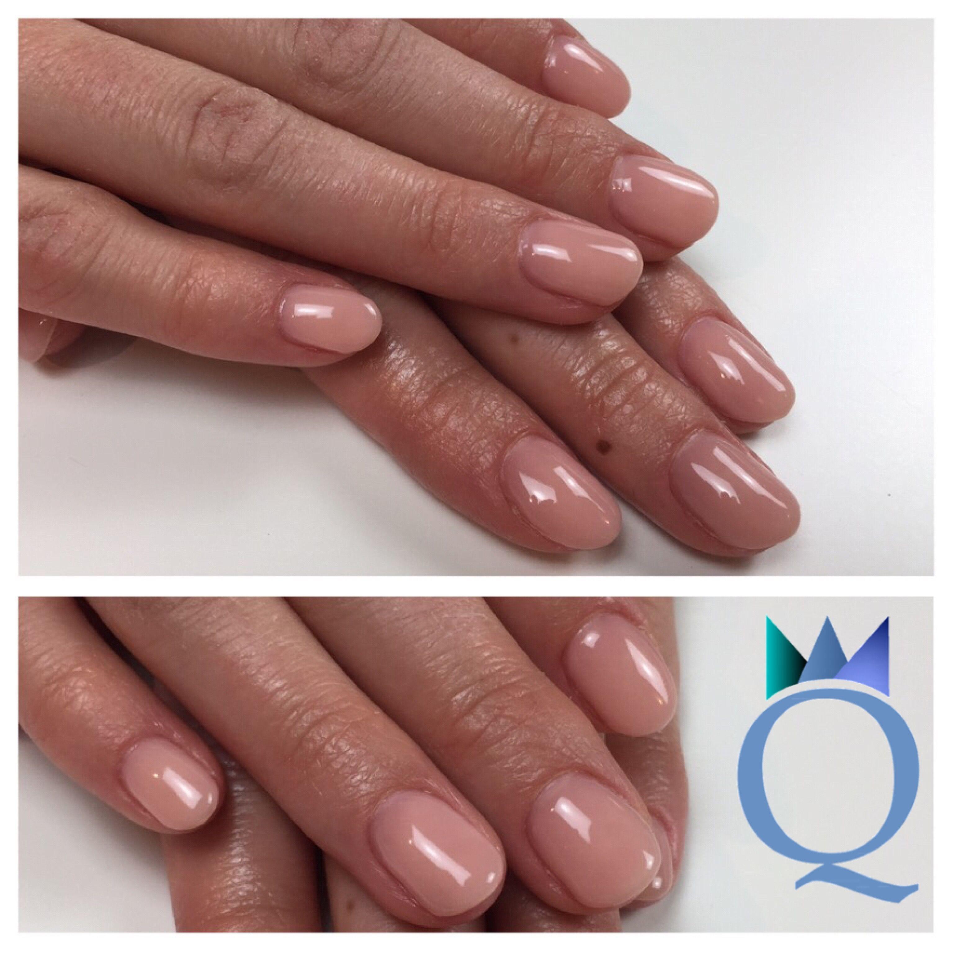 shortnails #gelnails #nails #naturalnails #nude #kurzenägel ...