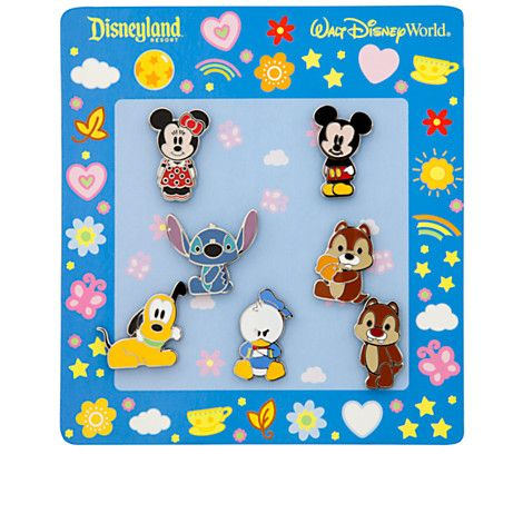 Cute Characters Cutie Mickey Mouse /& Friends Mini Disney Pin Make a Set Lot
