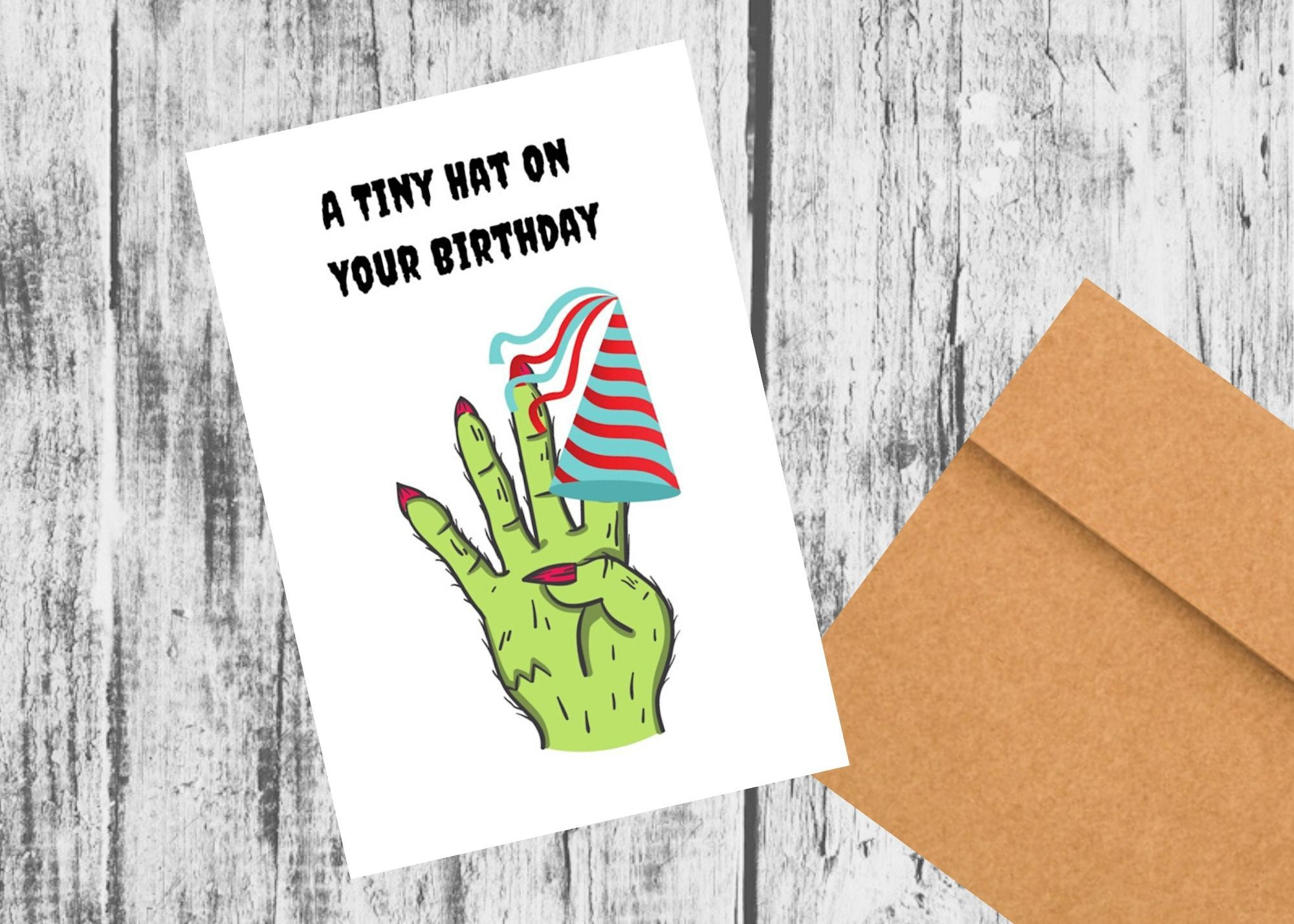 Zombie Birthday Card Walking Dead Zombie Card Funny Friendship Birthday Card Anniversary Cards For Husband Happy Retirement Cards Anniversary Greeting Cards