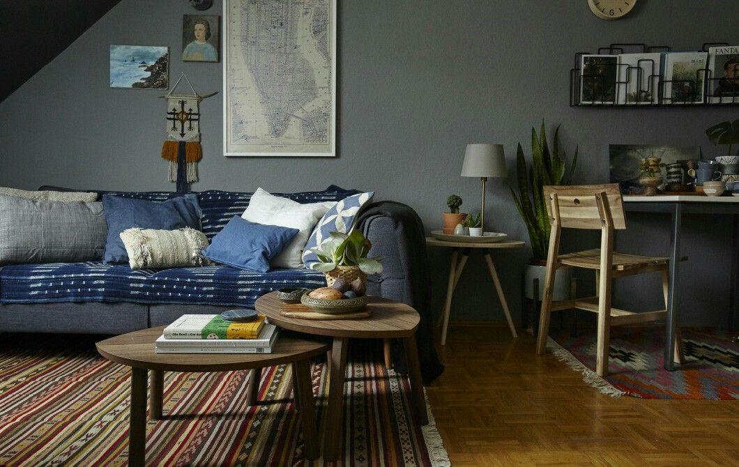 Ikea - idée déco petit appartement Ambiance intérieur Pinterest