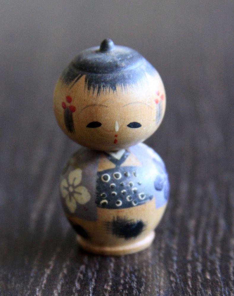 Kokeshi,Holzpuppe,Handmade,alt,sehr schön in Antiquitäten & Kunst, Internationale Antiq. & Kunst, Asiatika: Japan | eBay!