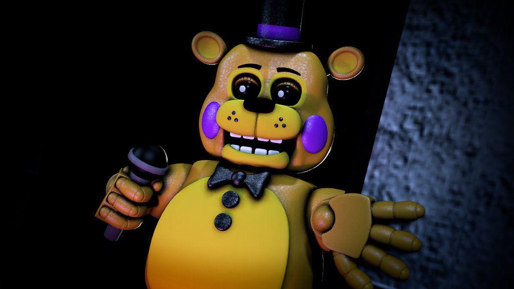 Toy Golden Freddy Poster By MrToyDoZz
