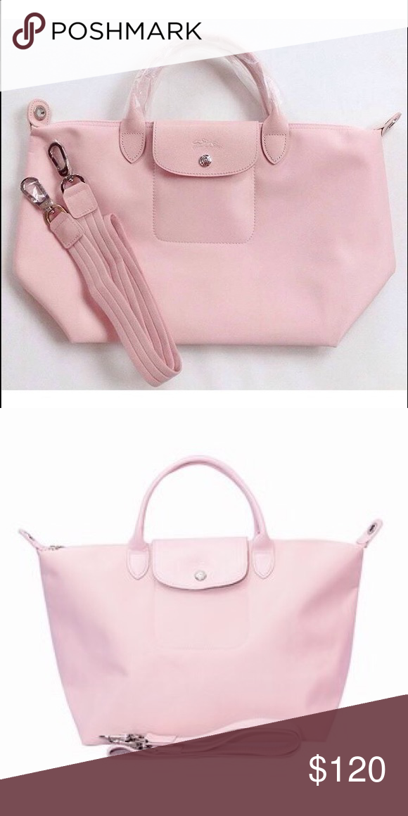 4e5895be26d4 Longchamp Neo ( porcelain pink ) New with tags and paper bag - medium  Longchamp Bags Totes