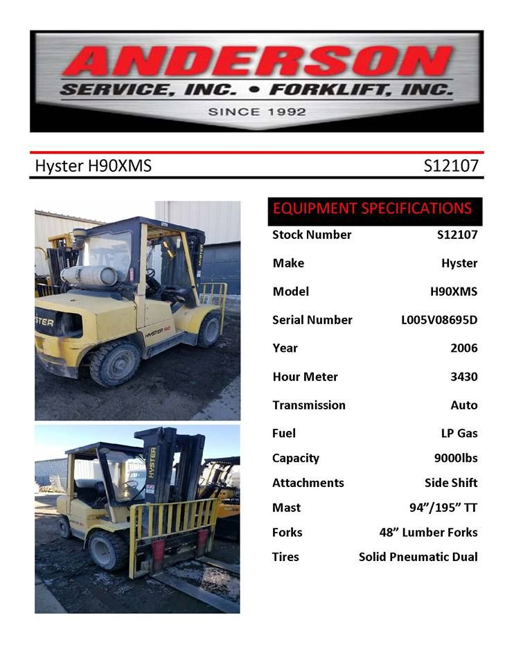 Pin By Anderson Forklift On Anderson Forklift Forklift Truck Mounted Crane Forklift Safety