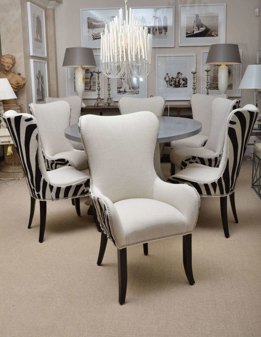 20 Awesome Zebra Dining Room Chairs