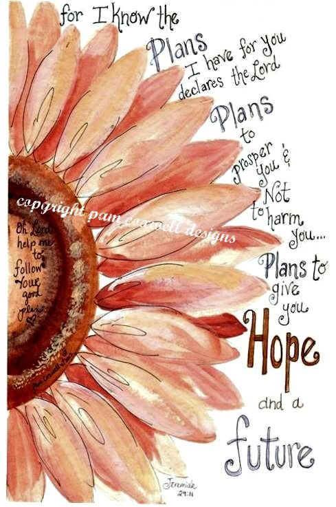 Jeremiah 29:11 canvas idea. IM DOING THIS