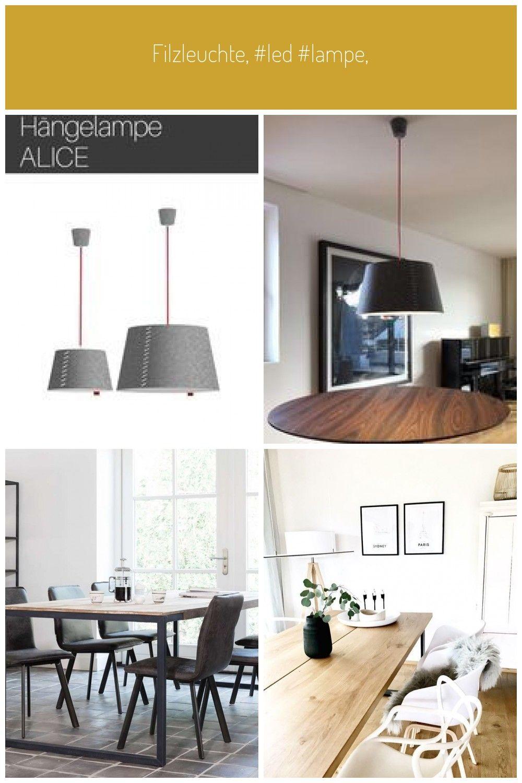 Filzleuchte Led Lampe Filzlampe Led Hängeleuchte Deckenleuchte Led Deckenleuchte Wohnzimmerlampe Leuchte Küche Mode Home Decor Decor Home