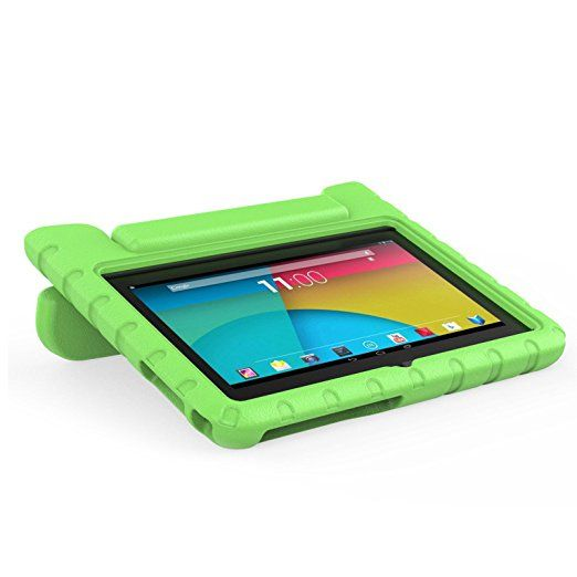 """Transwon Yuntab Y88 Case, Kids Shock Proof Light Weight Handle Stand Cover for Vuru A33, iRULU eXpro X1 7, Alldaymall A88X, Dragon Touch Y88X Plus 7, Ouku 7"""" A23, Neutab N7 Pro 7, Yuntab Q88 - Green: Amazon.ca: Office Products"""