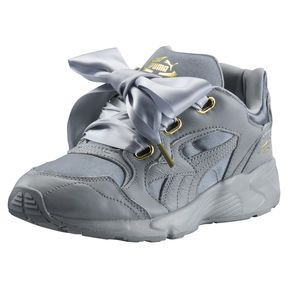 b214c87361 Prevail Heart Women's Satin Trainers, Quarry-Gold | T R A I N E R S ...