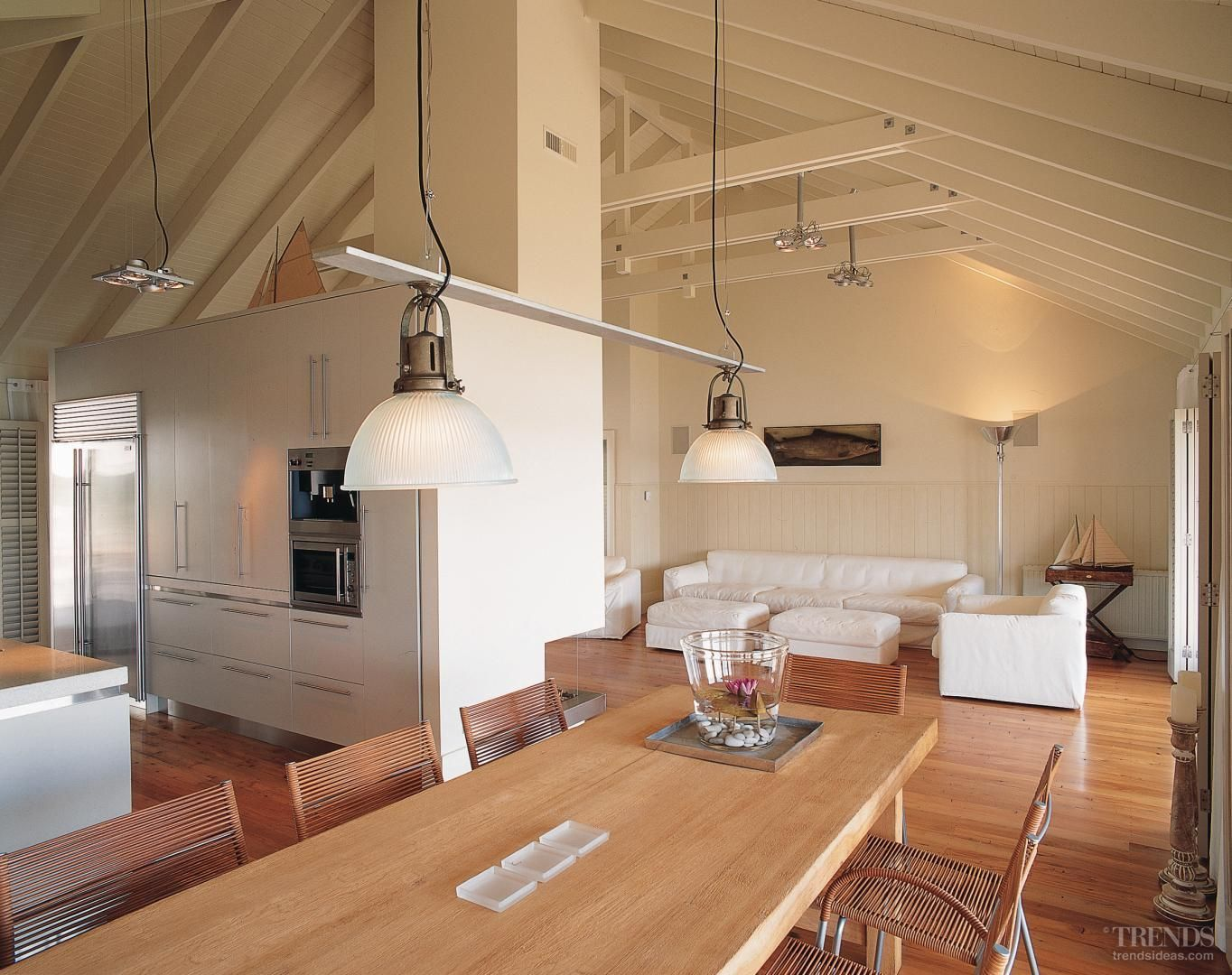 Open space interior design love the wood interior - Interior design open space ...