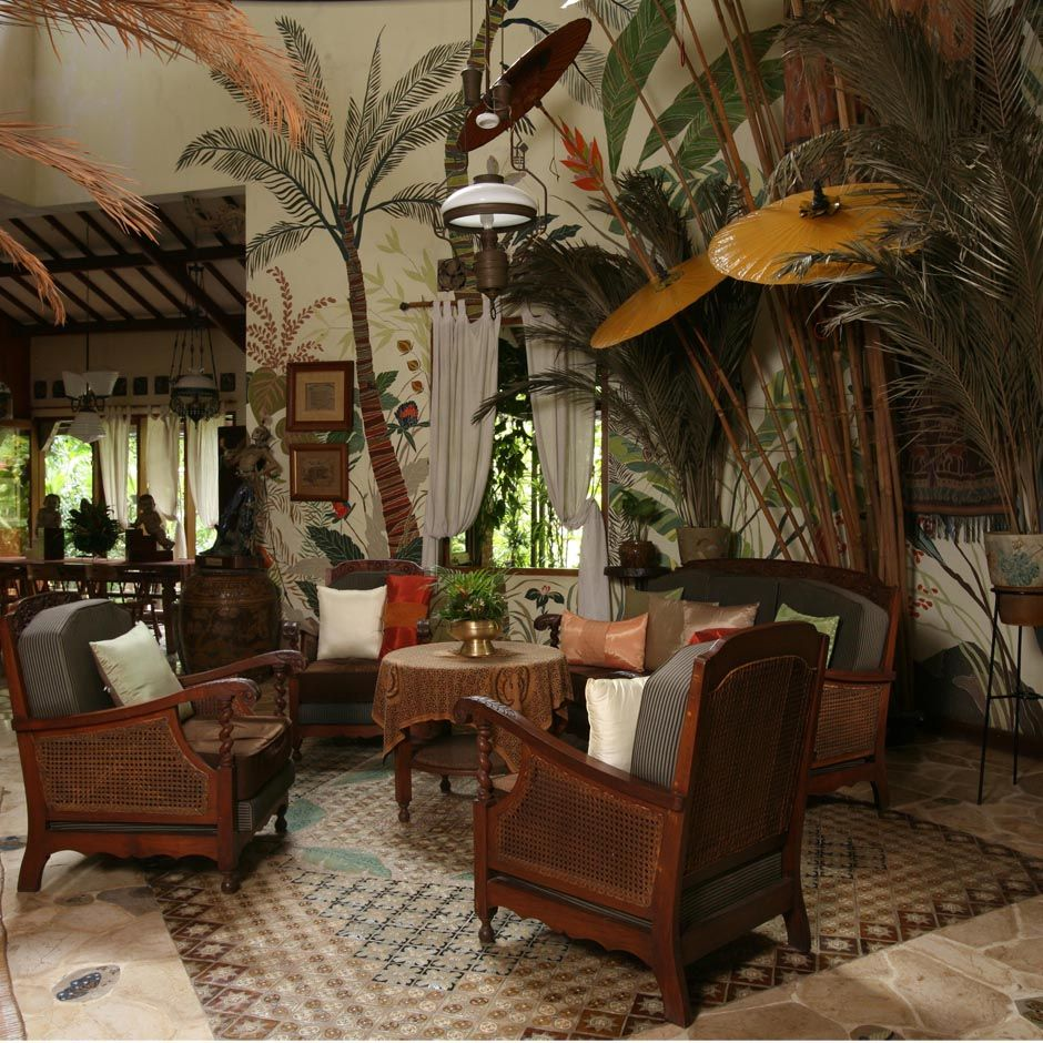 Our Nature Module Tropical Home Decor British Colonial Decor Tropical Wall Decor