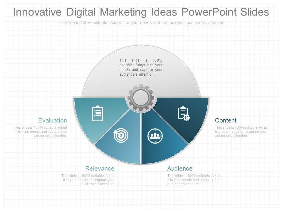 new innovative digital marketing ideas powerpoint slides ...