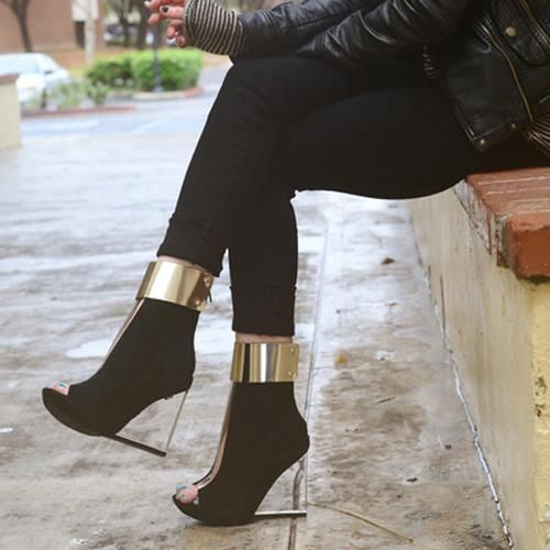 make a fashion statement about these crazy shoes !