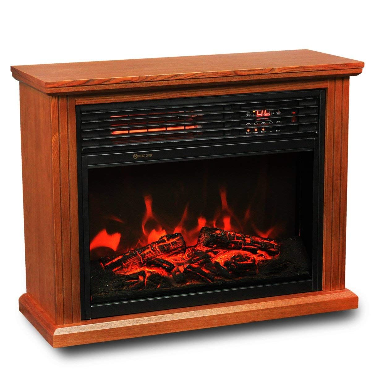 Outstanding Xtremepowerus Infrared Quartz Electric Fireplace Heater Interior Design Ideas Inesswwsoteloinfo