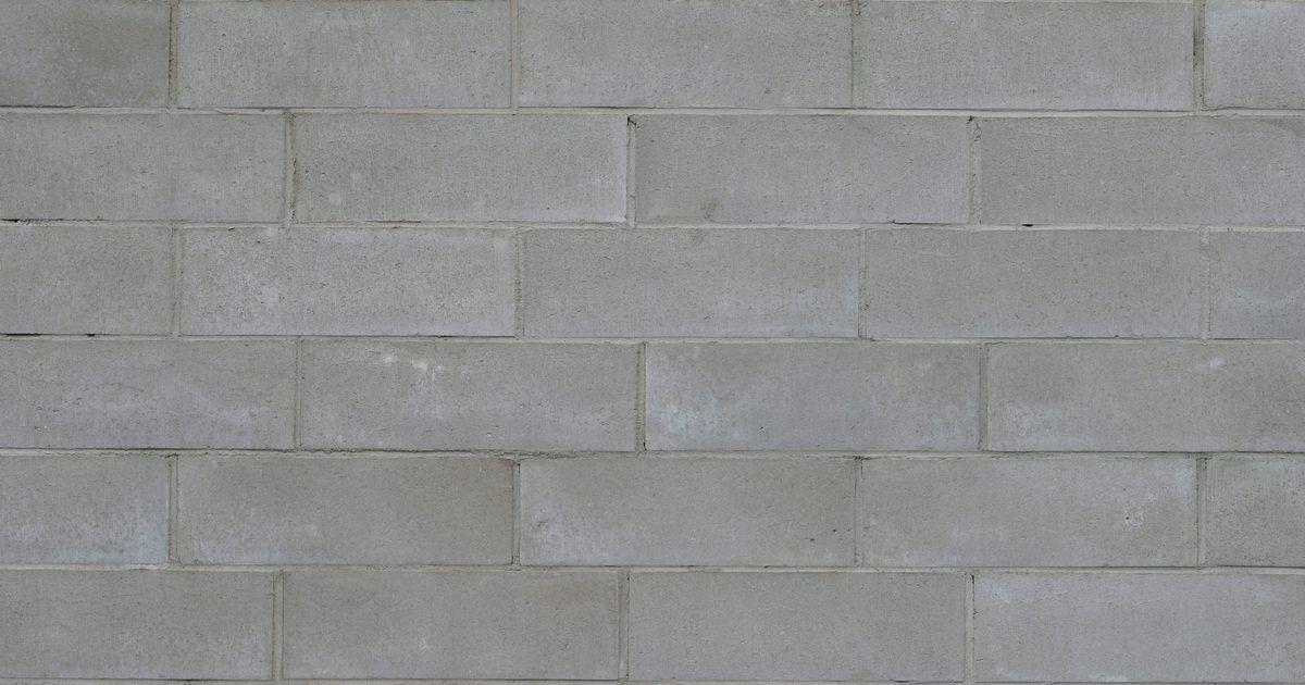 Cómo sellar las paredes de bloque antes de pintarlas   El bloque ...